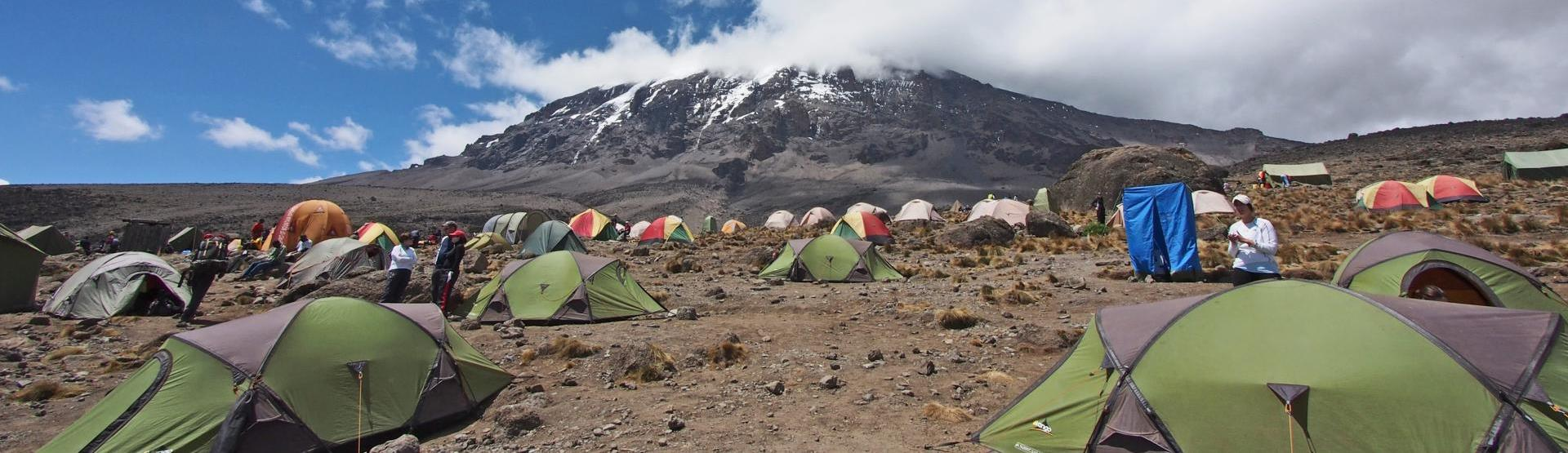 Camping-at-Kilimajaro-lemosho route